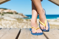 Wearing Flip Flops May Negatively Affect The Feet